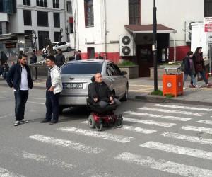 Engelli vatandaşın hatalı park çilesi