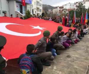 Yakakent'ten Afrin'e selam