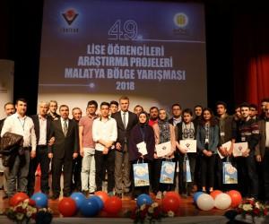 Adıyaman'da ki okullar TÜBİTAK ödüllerinin 7'sini aldı