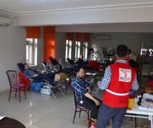 Kızılay Kargı'da 47 ünite kan topladı