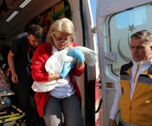 Hava ambulansı Belinay bebek için havalandı