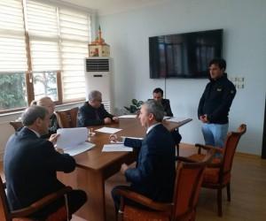 Simav'da taşeron işçilerin mülakat sınavı