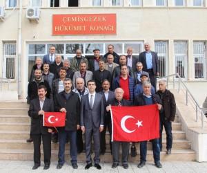 Tunceli'de muhtarlar maaşını Mehmetçik'e bağışladı