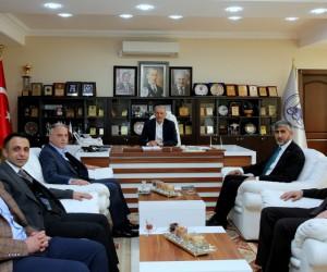 Tuncay Ulusan'dan Başkan Dişli'ye ziyaret