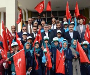 Başkan Akyürek Hadim'de yatırımları inceledi, halkla buluştu