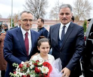 Bakan Ağbal, Malatya Büyükşehir Belediye Başkanı Çakır'ı ziyaret etti