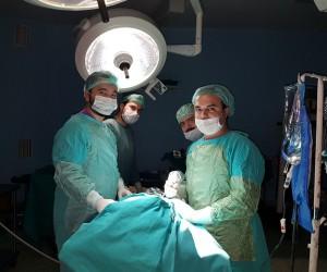Şırnak Devlet Hastanesinde kapalı gözyaşı kanal ameliyatı yapıldı