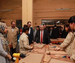 """Başkan Baran, """"Üretimdeki kaliteyi sizler arttıracaksınız"""""""