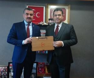 Avşar'dan Devlet Bahçeli'ye ziyaret