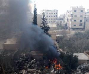 Rusya ve Suriye savaş uçakları Doğu Guta'ya napalm bombası attı: 50 ölü