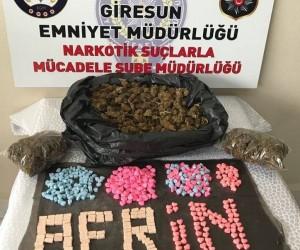Polis Afrin'e böyle selam gönderdi