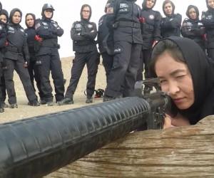 Afgan kadın polis adaylarına Sivas'ta zorlu eğitim