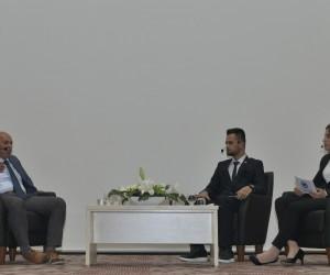 Başkan Çalışkan KMÜ'de öğrencilerin sorularını yanıtladı