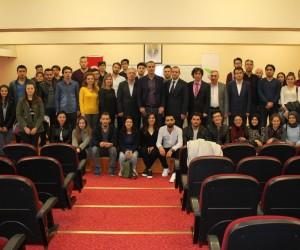 Türkiye'nin etki sahası başlıklı konferans gerçekleştirildi