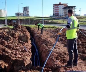 Siirt'te otomatik sulama sistemi kuruluyor