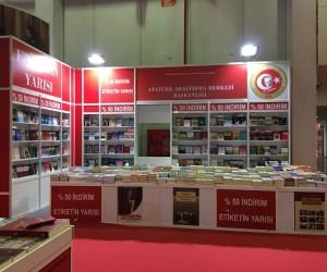 Atatürk Araştırma Merkezi Yayınları, TÜYAP Bursa 16. Kitap Fuarı'nda okuyucularıyla buluşuyor