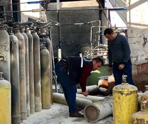 Başkent'te gaz dolumu yapılan fabrikada korkutan patlama: 1 yaralı