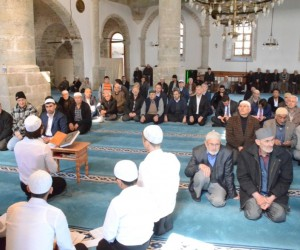 Safranbolu'da şehitleri için Mevlid-i Şerif okutuldu