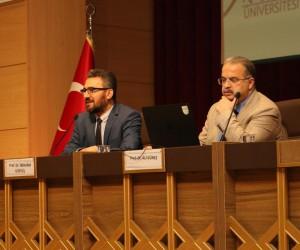 """KBÜ'de """"Modern Çağda Düşünce ve Algı Yönetimi"""" konulu konferans"""