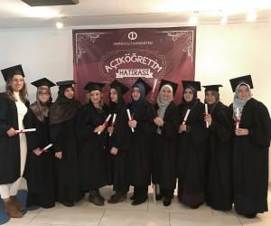 Batı Avrupa Programları güz dönemi mezunlarını verdi