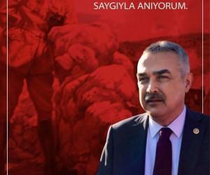 AK Parti'li Mustafa Savaş'ın Çanakkale Zafer mesajı
