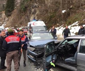 Doğu Karadeniz'de Şubat ayında trafik kazalarında 432 kişi yaralandı
