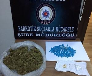 Uyuşturucu madde ticareti yapmak suçundan gözaltına alınan 2 şüpheli tutuklandı