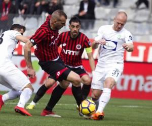 Spor Toto Süper Lig: Gençlerbirliği: 1 - TM Akhisarspor: 1 (Maç sonucu)