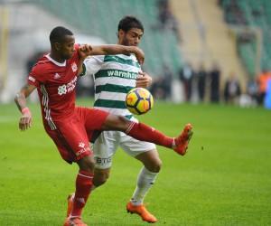 Spor Toto Süper Lig: Bursaspor: 0 - Demir Grup Sivasspor: 0 (İlk yarı)