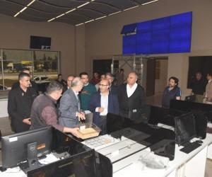 Vali Demirtaş, Adana Ticaret Borsası'nın yeni yerleşkesinde incelemelerde bulundu