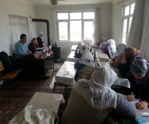 Tosya'da Kadın Çiftçilere tarım ve hayvancılık eğitimi verildi.