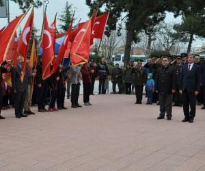Simav'da Çanakkale savaşı şehitlerini anma töreni