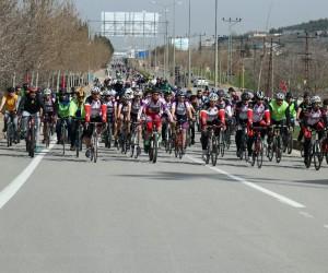 Çanakkale Şehitleri ve Afrin için bisiklet turu