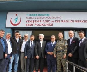 Yenişehir Diş Hastanesi açıldı