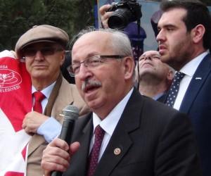 """Tekirdağ Büyükşehir Belediye Başkanı Kadir Albayrak: """"İstiklal Marşımızı aynı güfte ve heyecanla ebediyen okuyacağız"""""""