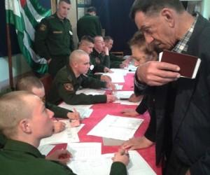 Rusya seçimlerinde Abhazya katılım rekoru kırdı