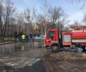 Ardahan Belediyesinden bahar temizliği