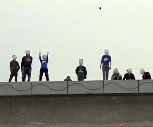 Bursa'da çocukların ölüm oyunu kameralara yansıdı
