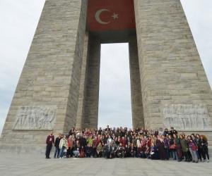 Çiğlili vatandaşlar Çanakkale'de