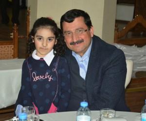 Azeri şehit çocukları Keçiören'i gezdi