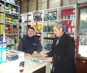 Köseköy Sanayi Sitesinde 292 iş yeri denetlendi