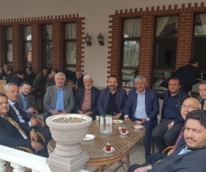 Başkan Yağcı'dan AK Parti Söğüt İlçe Başkanı İpekçi'ye geçmiş olsun ziyareti