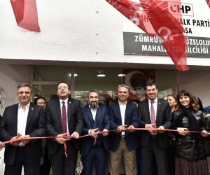 Güzeloluk ve Zümrütova Mahalle Temsilciliği açıldı