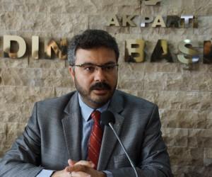 """Özmen; """"AK Parti olarak yaşlılara her zaman sahip çıktık"""""""