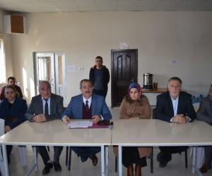 Başkan Gürsoy, taşeron işçilerle toplantı yaptı