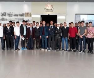 Ağrılı çocuklar Başakşehir - Beşiktaş maçını izledi