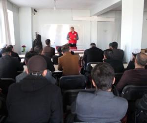 Muradiye'de 'Aile Sosyal Destek Programı' semineri