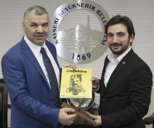 TÜGVA Genel Başkanı İsmail Emanet, Başkan Çelik'i ziyaret etti