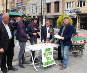 Kızıltepe çevre yolu için 60 bin imza toplandı