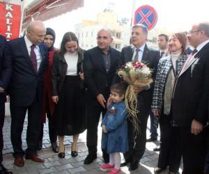 Parlamenterler Birliği yönetim kurulu belediyeyi ziyaret etti